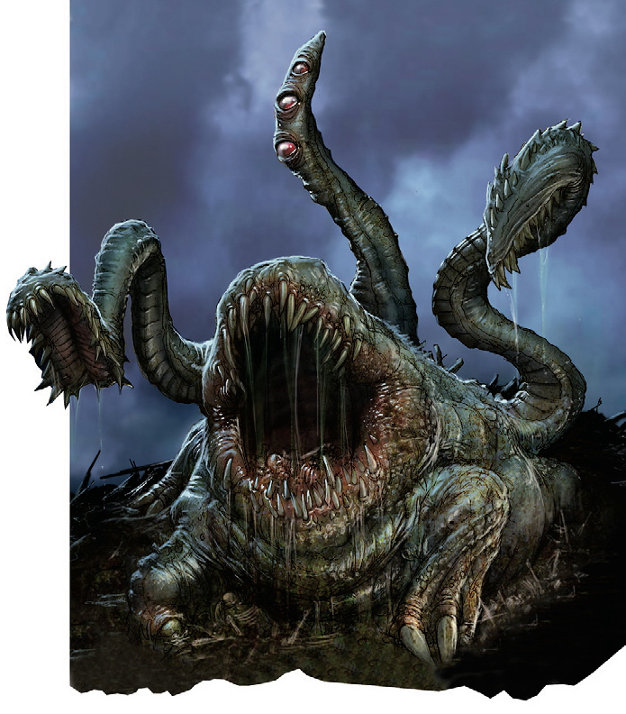 {$tags} Otyugh - by Arnie Swekel 4th edition Monster Manual (2008-06) © Wizards of the Coast & Hasbro