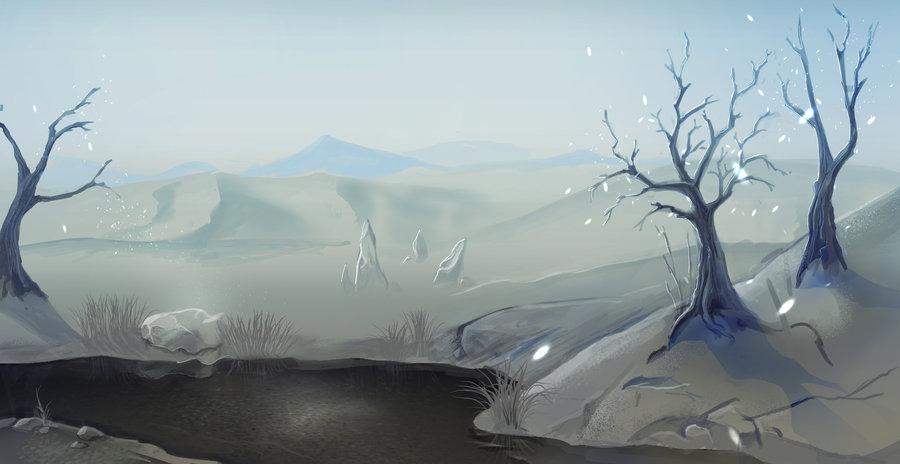 """ronamis """"Gray Waste"""", cartolina dei Piani Esterni - by ronamis (Michael Malkin) ronamis.deviantart.com (2012) © dell'autore tutti i diritti riservati"""