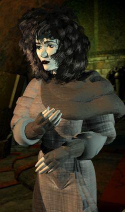 dustmen female Una Dustmen, rendering Planescape Torment (1999) © Black Isle, Wizards of the Coast & Hasbro