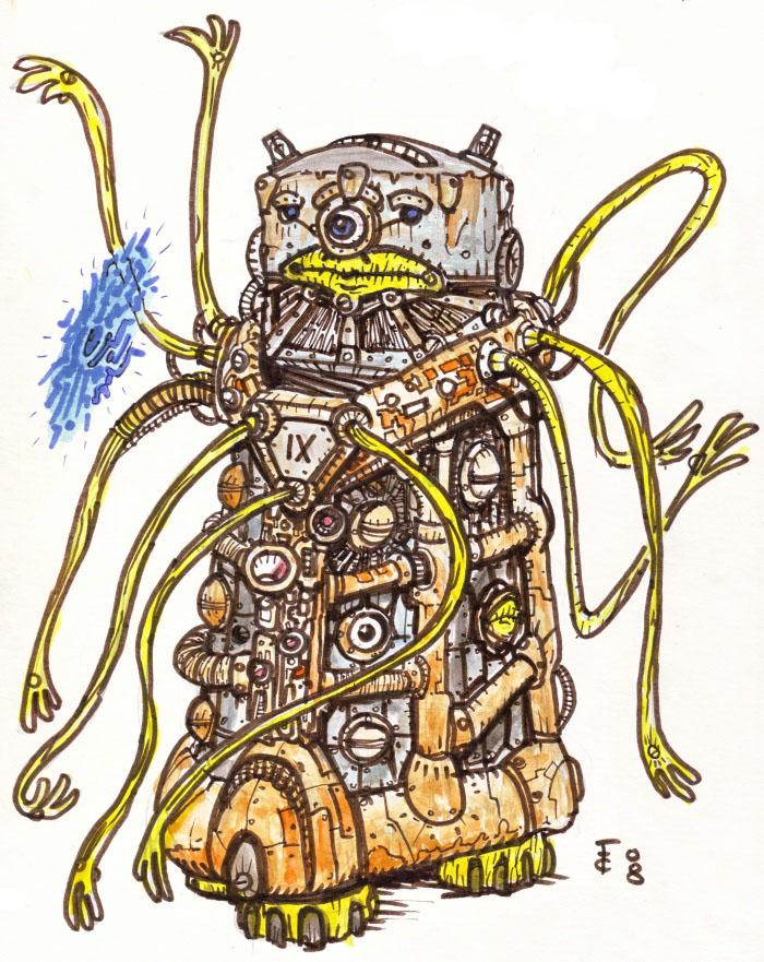 """clone-artist """"Nonaton"""" - by clone-artist (Filip C.) clone-artist.deviantart.com (2008) © dell'autore tutti i diritti riservati"""