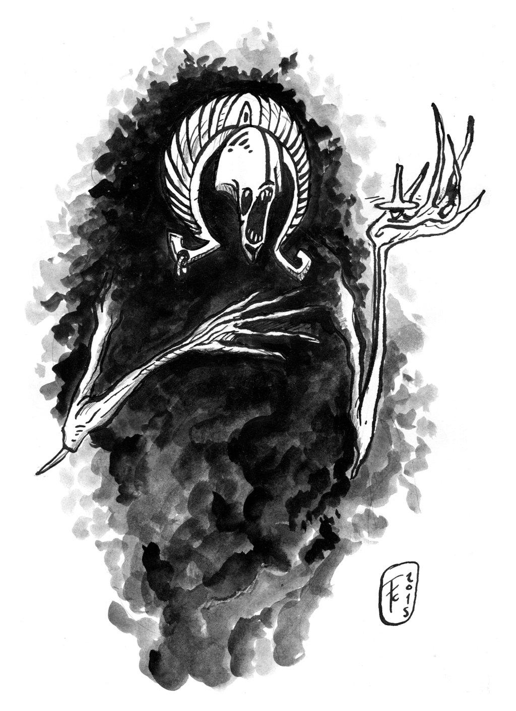 """clone-artist """"Visage"""", i servitori non-morti di Tu-Sai-Chi - by clone-artist (Filip C.) clone-artist.deviantart.com (2015) © dell'autore tutti i diritti riservati"""