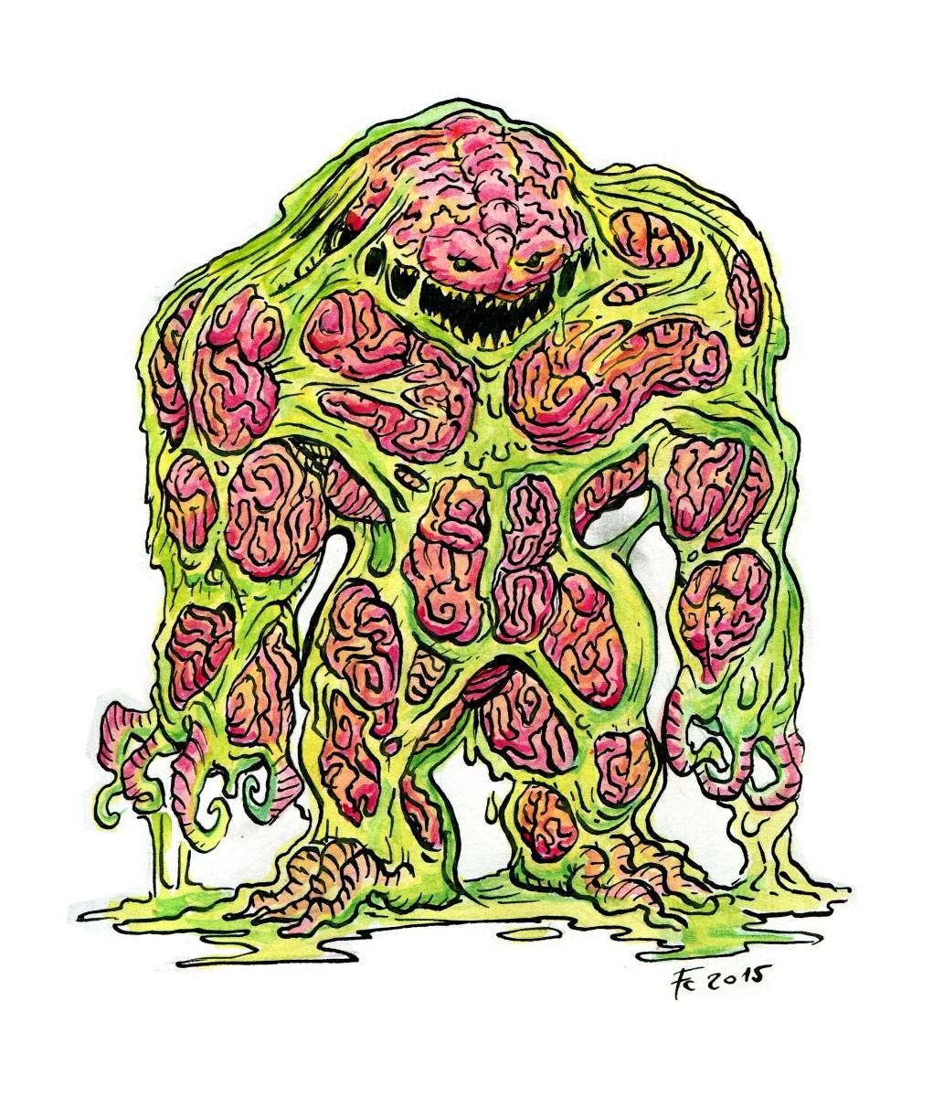 """clone-artist """"Eater of Knowledge"""", rivisitazione dei divoratori di sapere, emissari di Ilsensine - by clone-artist (Filip C.) clone-artist.deviantart.com (2015-02) © dell'autore tutti i diritti riservati"""