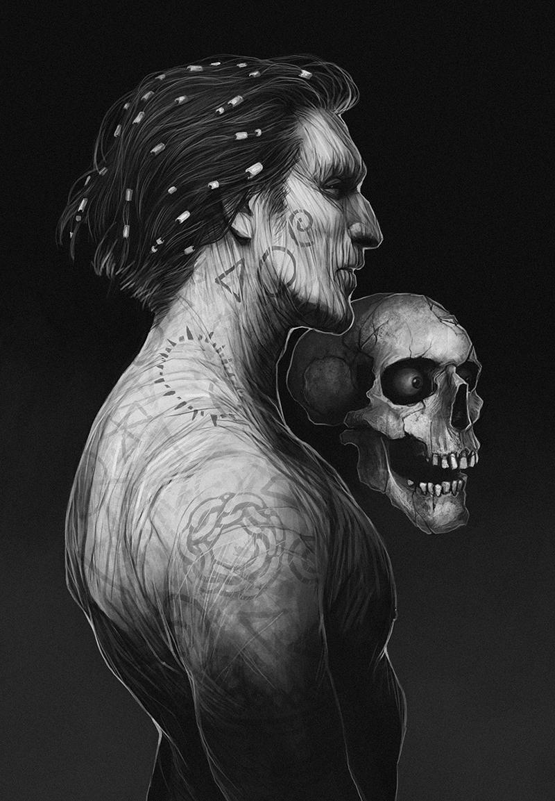 coupleofkooks Planescape Torment: Nameless One and Morte - by Coupleofkooks (Kooks) coupleofkooks.tumblr.com (2017-11) © dell'autore tutti i diritti riservati
