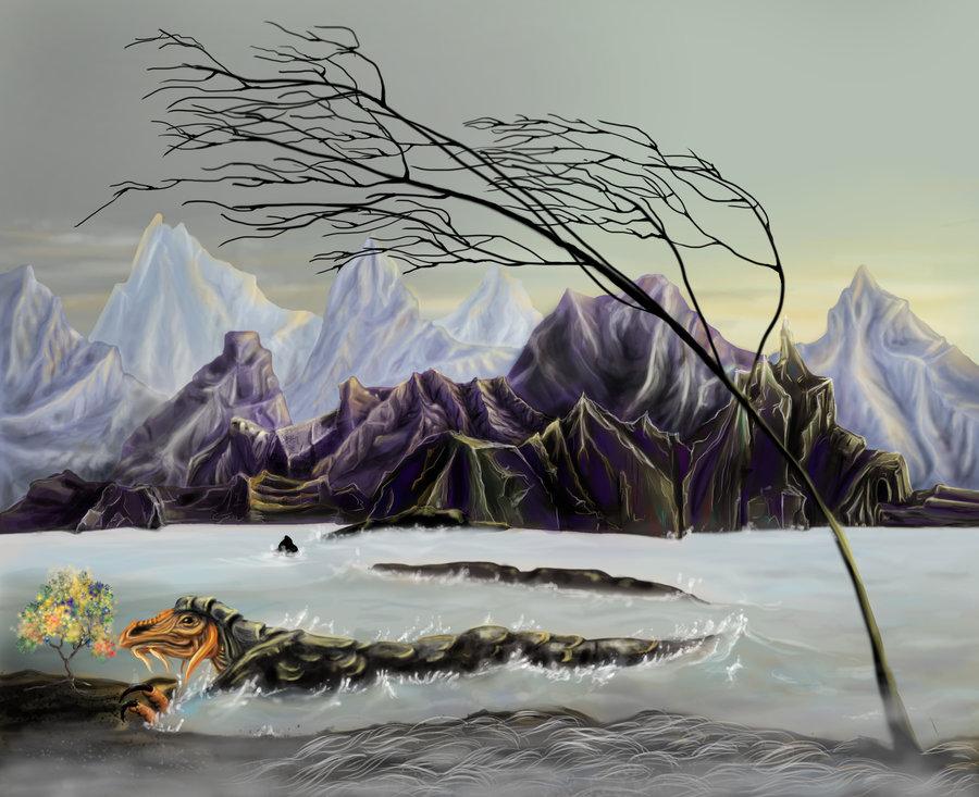 """delhar """"Florescence"""", il reame di Fennimar su Limbo - by delhar (Yashka) delhar.deviantart.com (2012) © dell'autore tutti i diritti riservati"""
