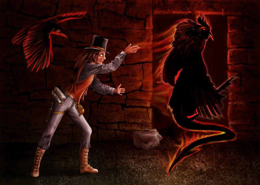 """delhar """"Shadow Monsters Spell"""" - by delhar (Yashka) delhar.deviantart.com (2011) © dell'autore tutti i diritti riservati"""