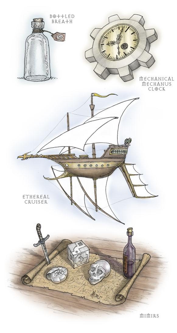 domigorgon Illustrazioni varie per la conversione in 3.5 di Planescape - by Domigorgon (Domagoj Rapčak) domigorgon.blogspot.com (2009-06) © dell'autore tutti i diritti riservati