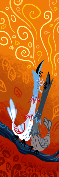 "dungeonsanddrawings ""Elysian Thrush"" - by Blanca Martinez de Rituerto dungeonsanddrawings.blogspot.com (2012-09) © dell'autore tutti i diritti riservati"
