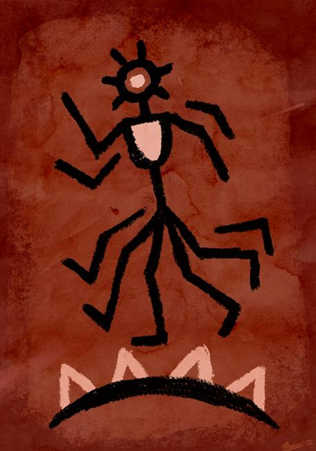 "dungeonsanddrawings ""Fharlanghn"" - by Blanca Martinez de Rituerto dungeonsanddrawings.blogspot.com (2012-08) © dell'autore tutti i diritti riservati"