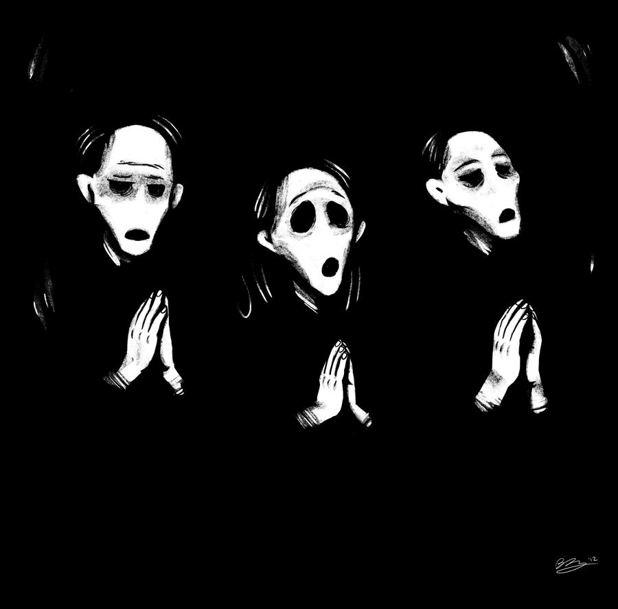"dungeonsanddrawings ""Crypt Chanter"" - by Blanca Martinez de Rituerto dungeonsanddrawings.blogspot.com (2012-05) © dell'autore tutti i diritti riservati"