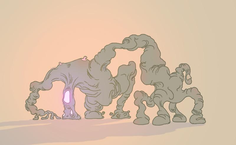 """dungeonsanddrawings """"Forsaken Shell"""" - by Tony Comley dungeonsanddrawings.blogspot.com (2012-04) © dell'autore tutti i diritti riservati"""