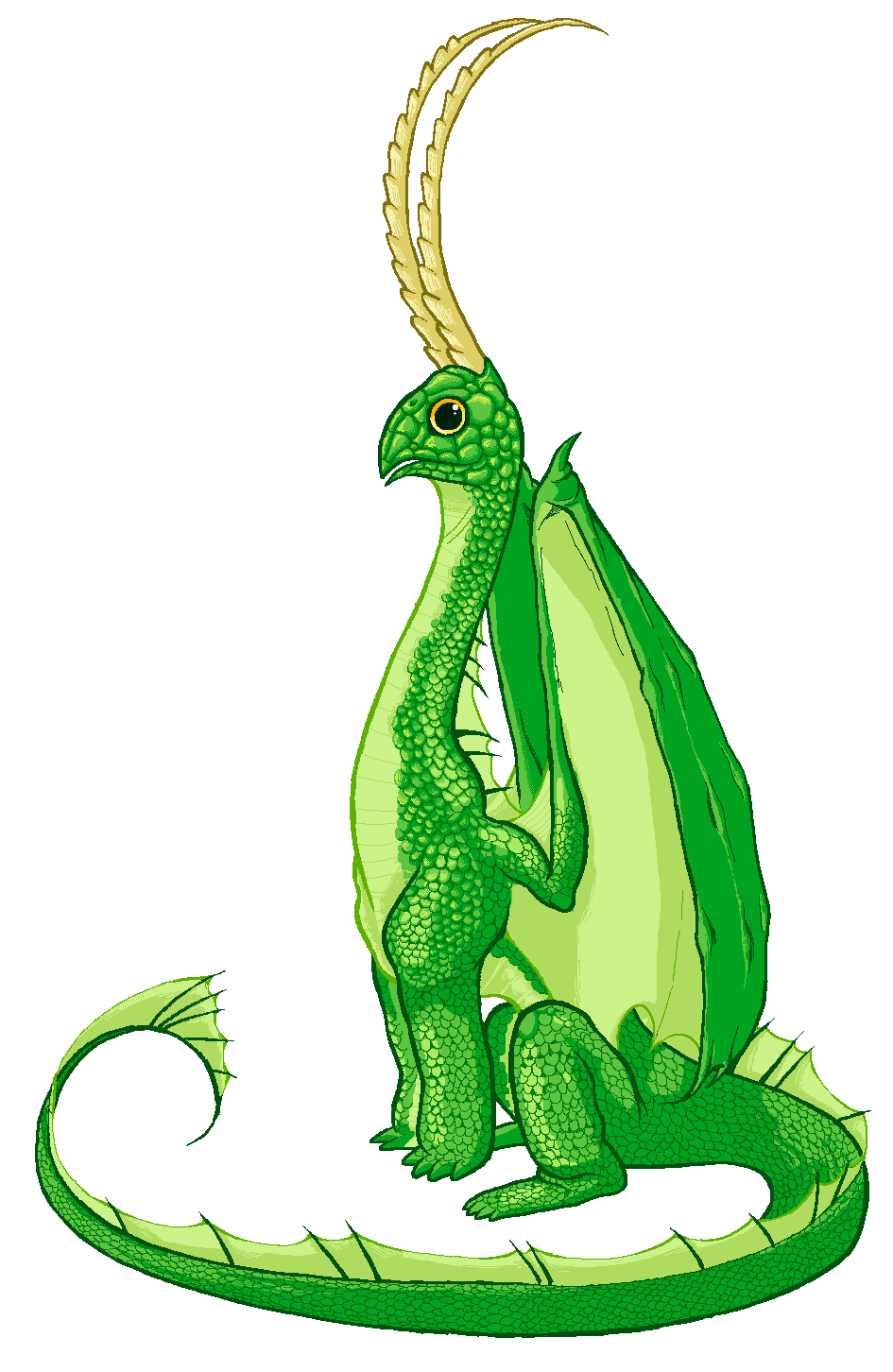 "dungeonsanddrawings ""Green Dragon"" - by Blanca Martinez de Rituerto dungeonsanddrawings.blogspot.com (2011-08) © dell'autore tutti i diritti riservati"