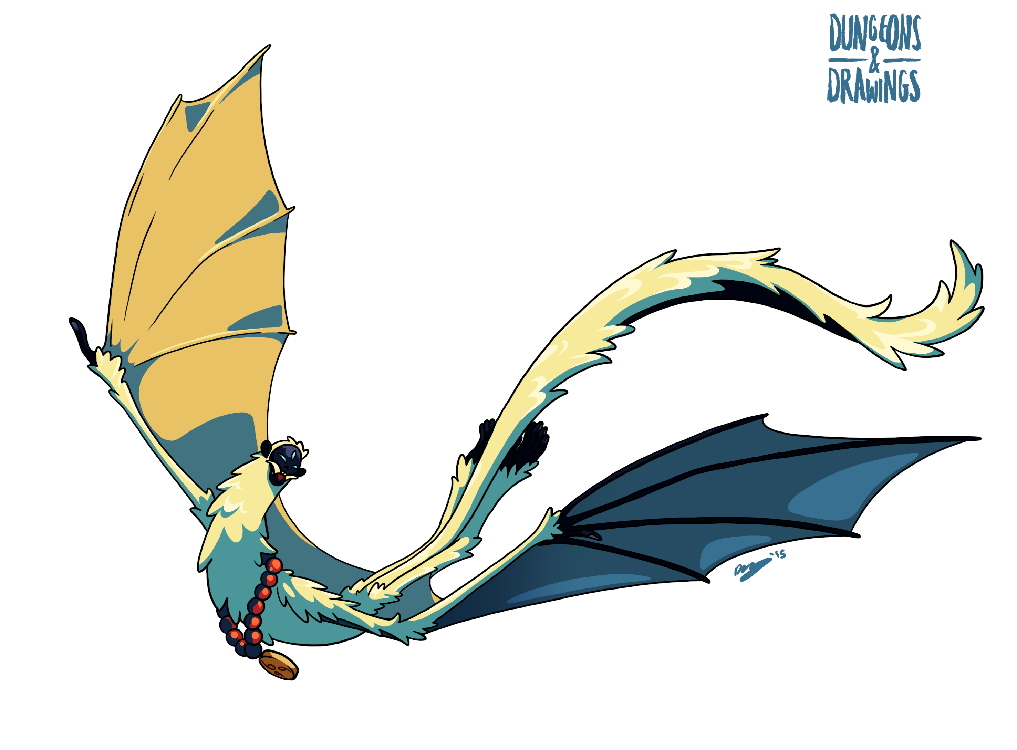 "dungeonsanddrawings ""Spirit of Air"" - by Blanca Martinez de Rituerto dungeonsanddrawings.blogspot.com (2015-03) © dell'autore tutti i diritti riservati"