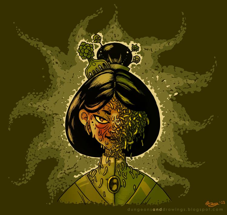 "dungeonsanddrawings ""Worm That Walks"" - by Blanca Martinez de Rituerto dungeonsanddrawings.blogspot.com (2013-01) © dell'autore tutti i diritti riservati"