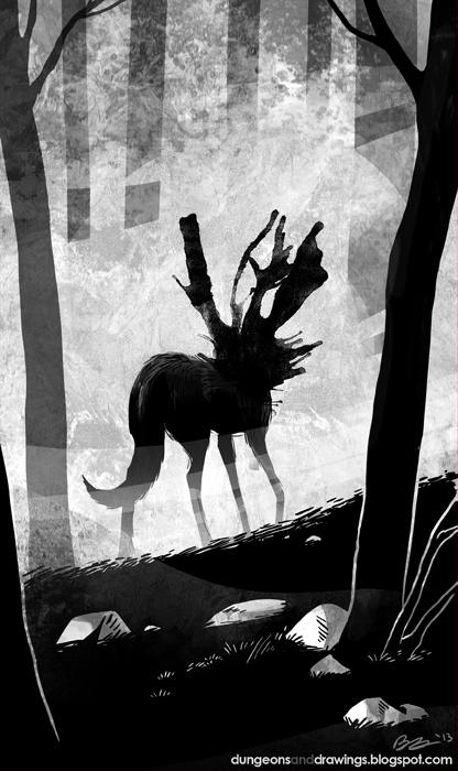 "dungeonsanddrawings ""Yeth Hound"" - by Blanca Martinez de Rituerto dungeonsanddrawings.blogspot.com (2013-02) © dell'autore tutti i diritti riservati"