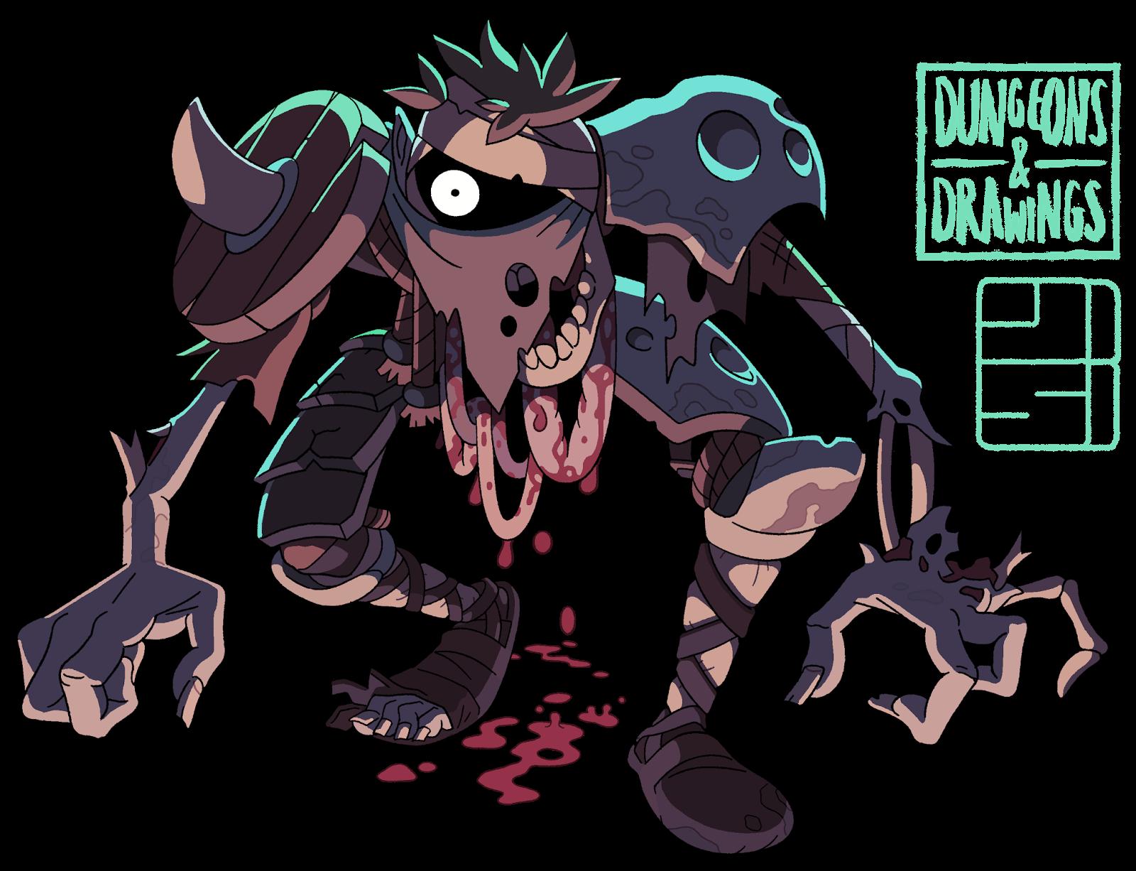 "dungeonsanddrawings ""Zombie"" - by Joe Sparrow dungeonsanddrawings.blogspot.com (2017-10) © dell'autore tutti i diritti riservati"