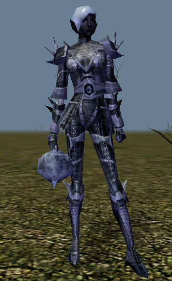 d&d dark elf Drow nell'espansione di Neverwinter, Orde del Sottosuolo Videogame: Neverwinter Nights, Hordes of the Underdark (2003-12) © Atari, Wizards of the Coast & Hasbro