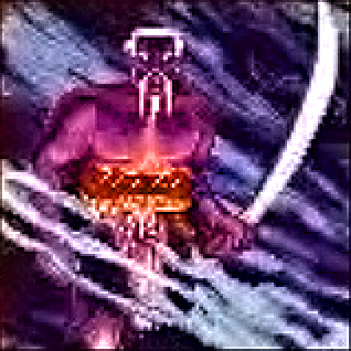 d&d dark elf pixelart Portrait drow (coi baffi) Videogame: Pools of Darkness (1991-12) © SSI, Wizards of the Coast & Hasbro