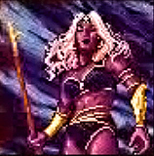 d&d dark elf drow pixelart Portrait elfa scura Videogame: Pools of Darkness (1991-12) © SSI, Wizards of the Coast & Hasbro