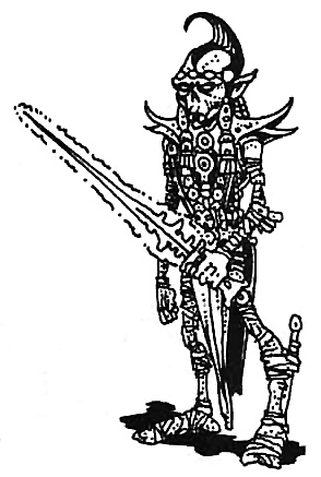 {$tags} Githyanki alla sua prima apparizione in Advanced D&D Fiend Folio (1981) © Wizards of the Coast & Hasbro