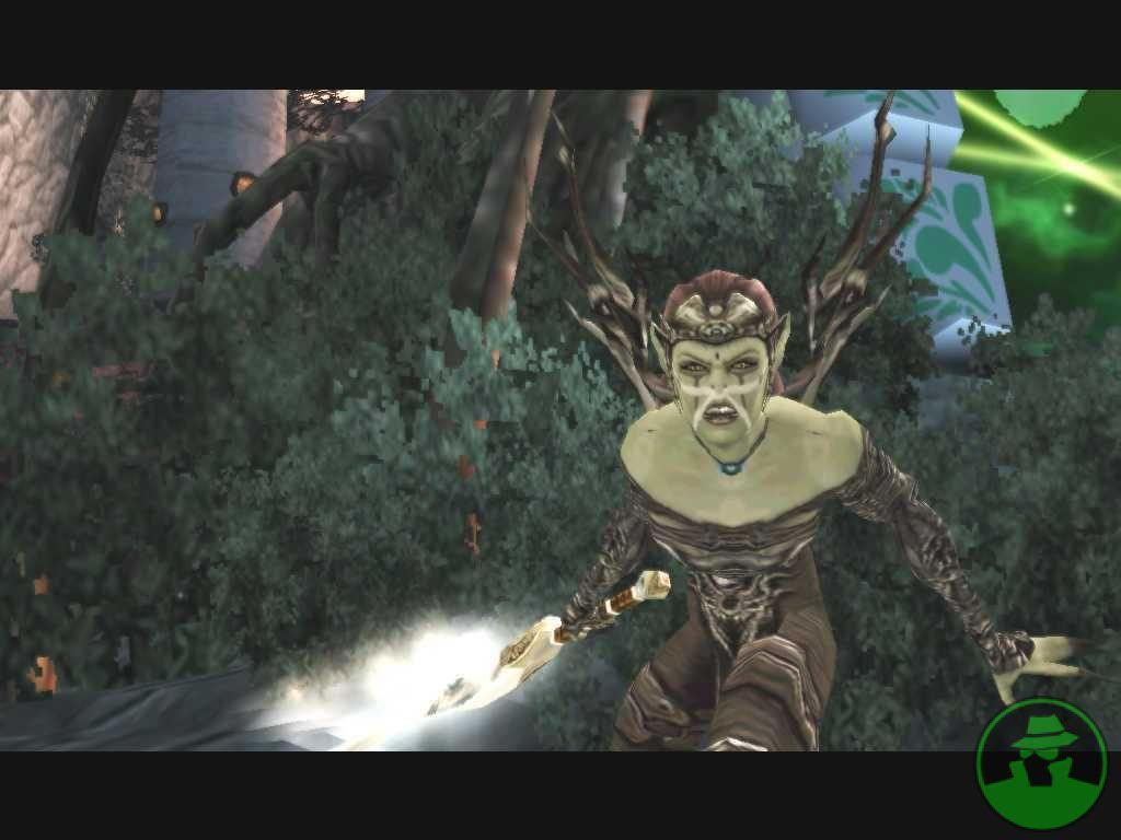 {$tags} Chireka, generalessa githyanki, screenshot Videogame: Forgotten Realms, Demon Stone (2004-11) © Atari, Stormfront Studios, Wizards of the Coast & Hasbro