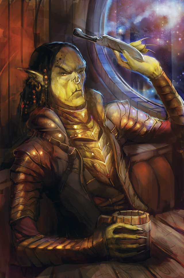 {$tags} Personalità githyanki: Zulkolosz - by Julie Dillon The Plane Above, Secrets of the Astral Sea (2010-04) © Wizards of the Coast & Hasbro