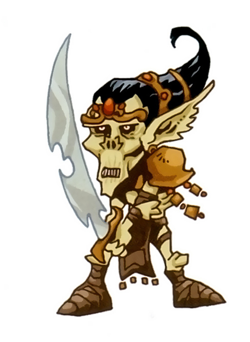 """{$tags} Githyanki SD - by Kyle Stanley Hunter """"Downer"""" dalle pagine di Dragon Magazine (2007) © Paizo Comics, Wizards of the Coast & Hasbro"""