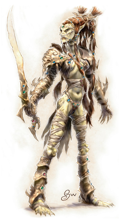 {$tags} Githyanki - by Sam Wood Monster Manual v. 3.5 (2003) © Wizards of the Coast & Hasbro