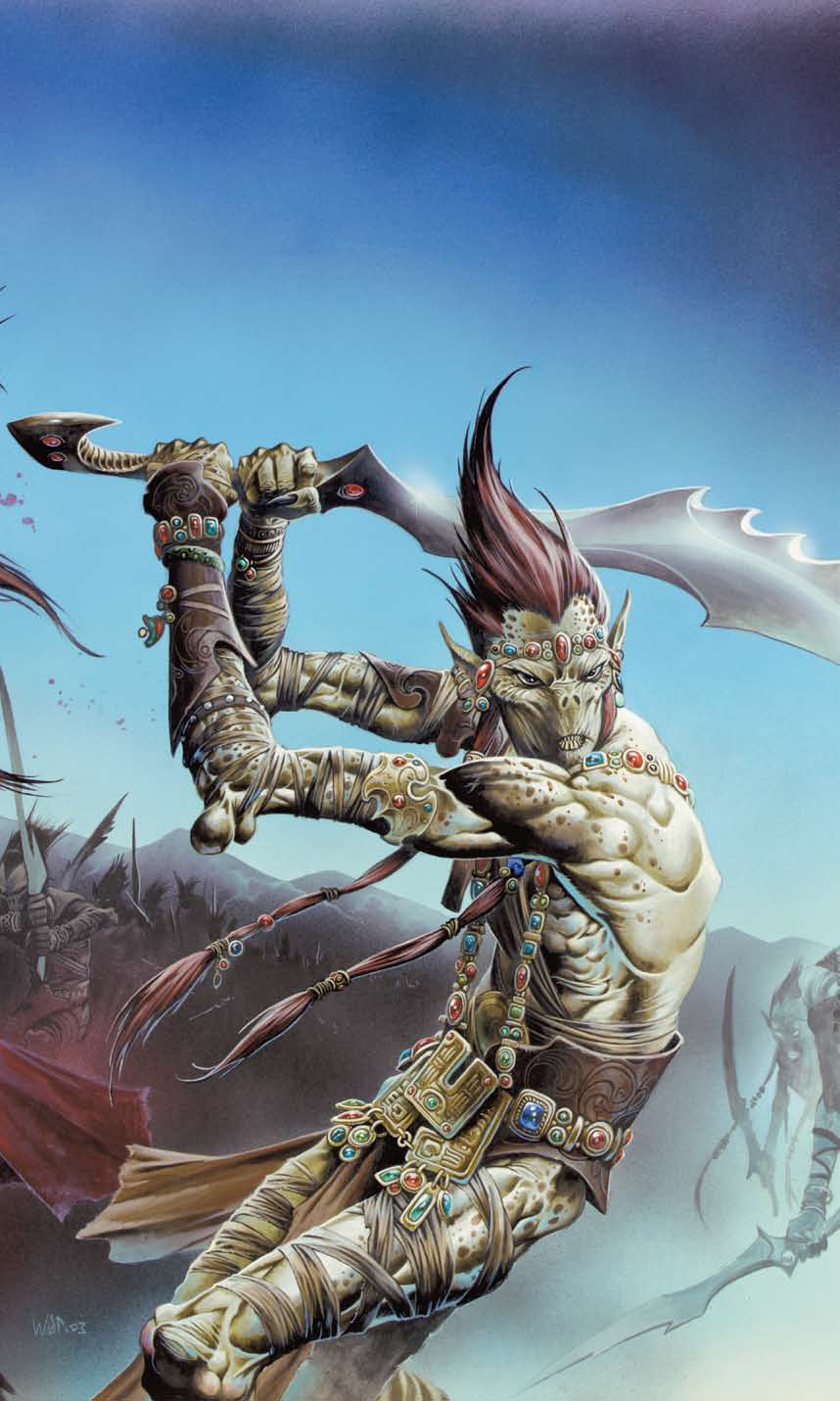 {$tags} Githyanki - by Wayne Reynolds Dungeon Magazine #167 (2009-06) © Wizards of the Coast & Hasbro