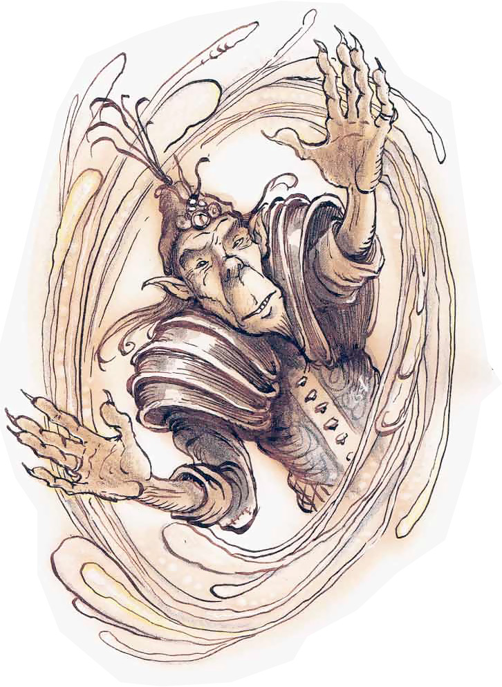 {$tags} Mago githyanki - by Tony Diterlizzi TSR - A Guide to Astral Plane (1996-10) © Wizards of the Coast & Hasbro