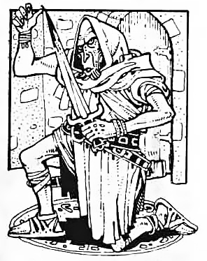 {$tags} Githzerai alla sua prima apparizione in Advanced D&D Fiend Folio (1981) © Wizards of the Coast & Hasbro