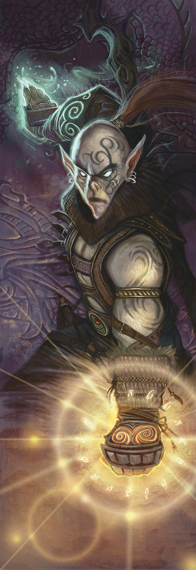 {$tags} Githzerai - by William O'Connor Player's Handbook 3 (2010-03) © Wizards of the Coast & Hasbro