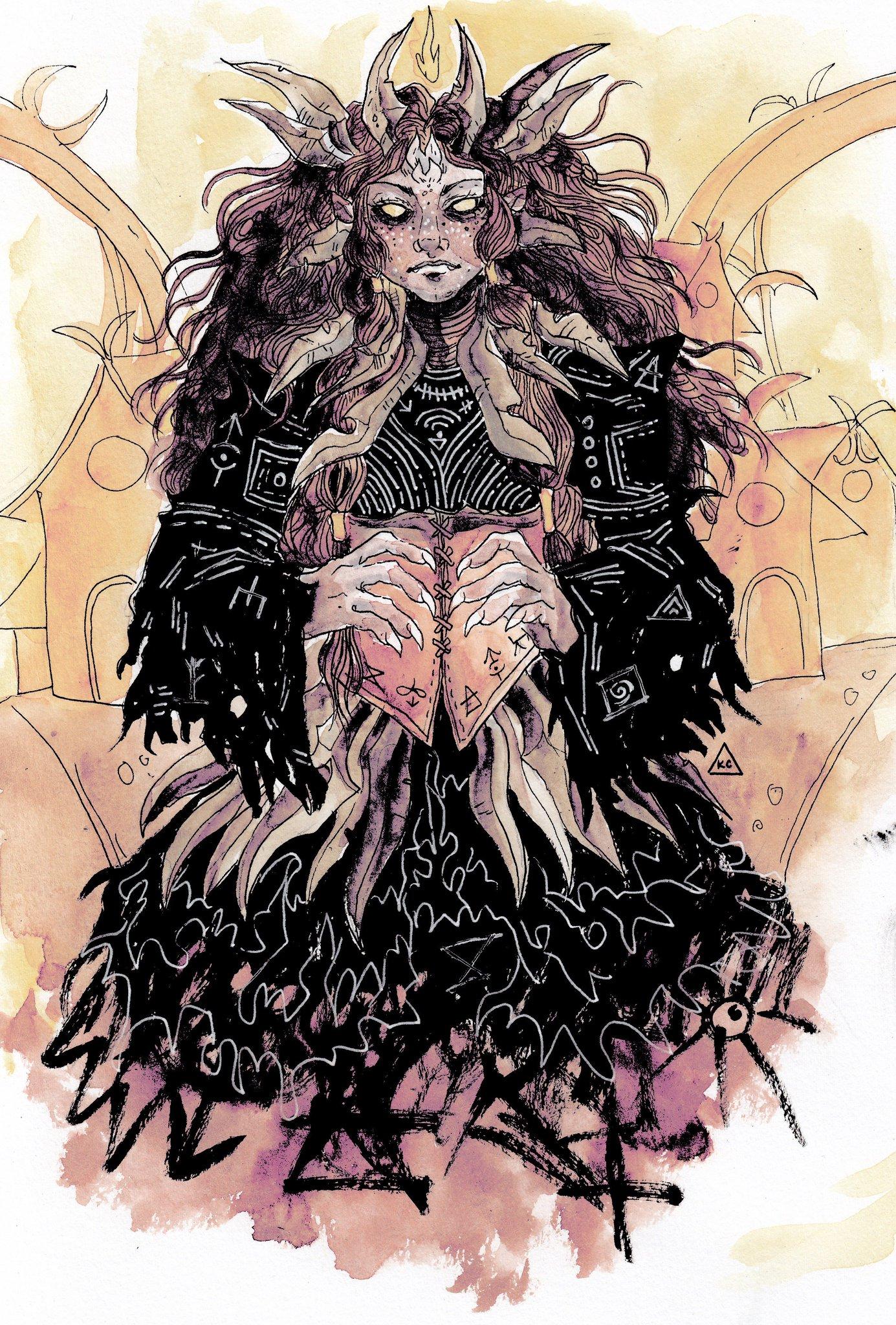 kayla-cline La Signora del Dolore, design alternativo - by Kayla Cline www.kaylacline.com (2018-01) © dell'autore, tutti i diritti riservati
