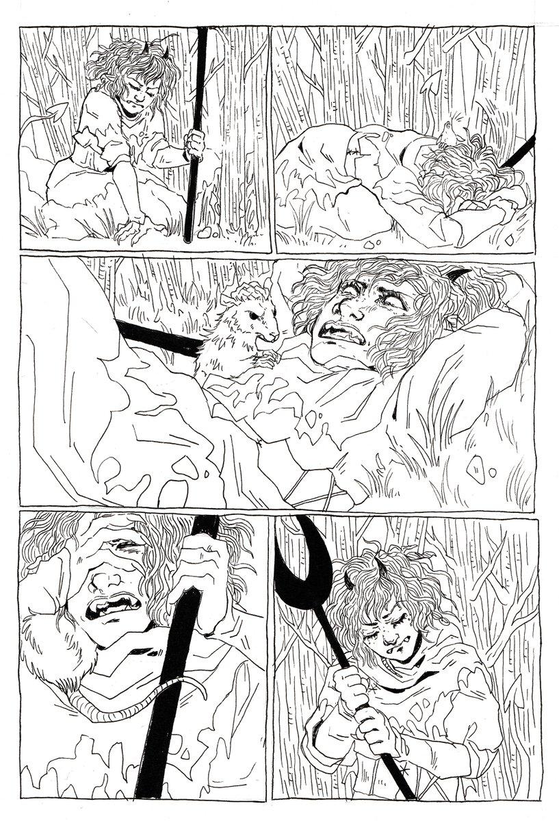 kayla-cline fumetto di Strix la tiefling, inchiostri 2 - by Kayla Cline www.kaylacline.com (2018-05) © dell'autore, tutti i diritti riservati