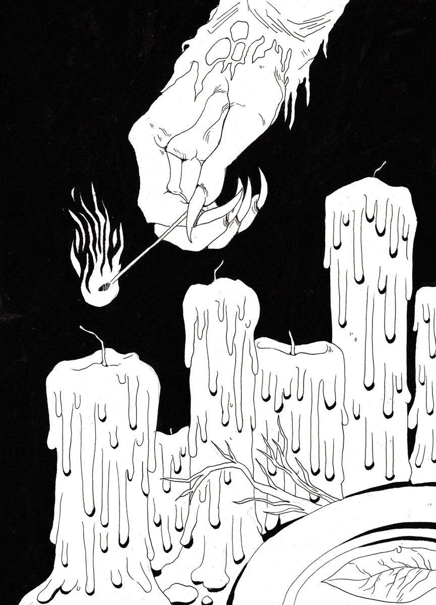 kayla-cline fumetto di Strix la tiefling, inchiostri 5 - by Kayla Cline www.kaylacline.com (2018-05) © dell'autore, tutti i diritti riservati