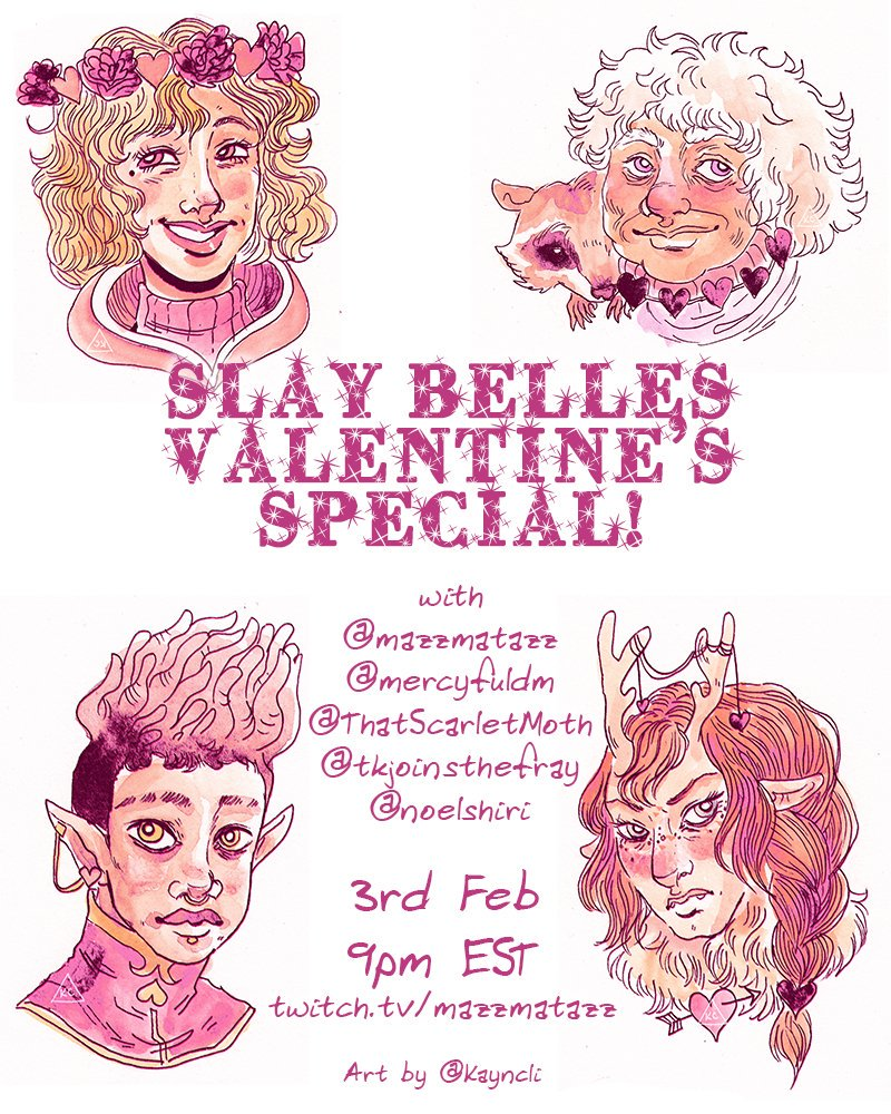 "kayla-cline ""Slay Belles Valentine's Special - by Kayla Cline www.kaylacline.com (2018-02) © dell'autore, tutti i diritti riservati"