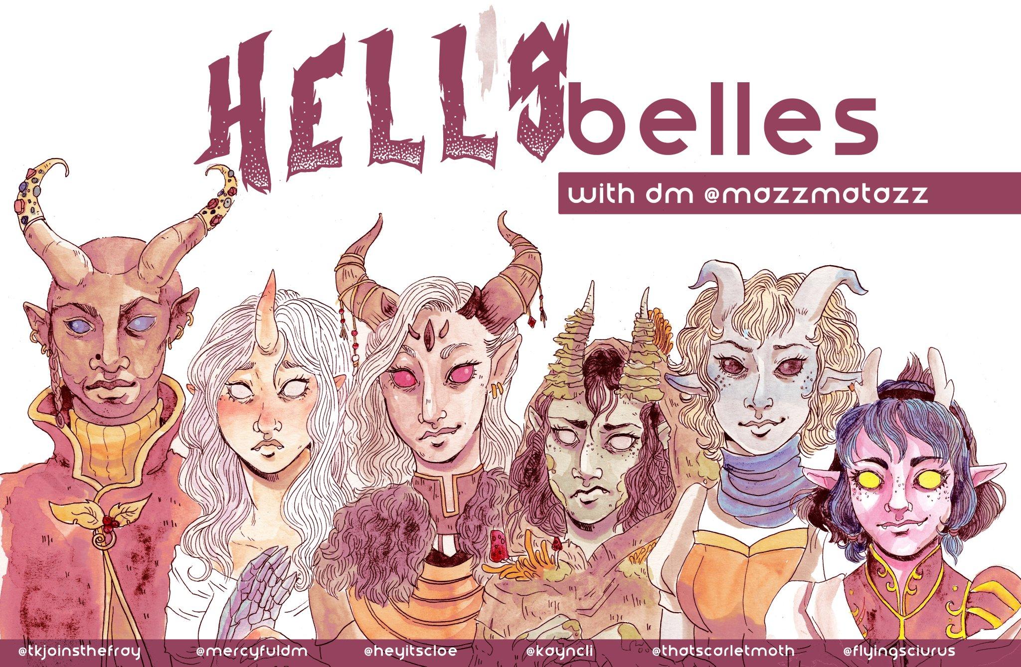 kayla-cline Hell's Belles, un party di soli tiefling - by Kayla Cline www.kaylacline.com (2018-01) © dell'autore, tutti i diritti riservati