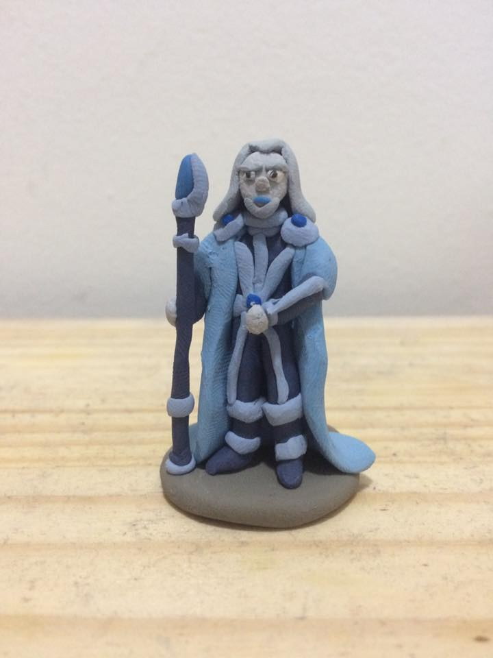 daleksaresupreme1 Ice Genasi Wizard - by Lucas Mitchell (daleksaresupreme1) daleksaresupreme1.deviantart.com (2017-10) © dell'autore tutti i diritti riservati