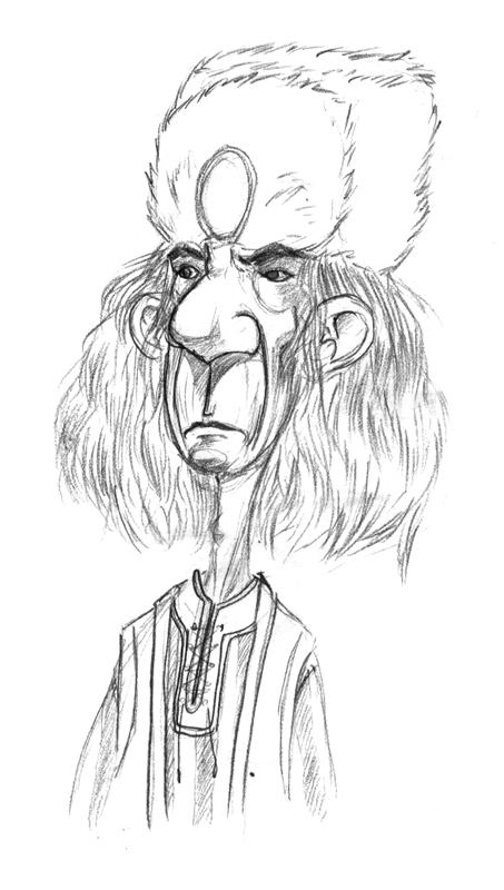 """magiy """"Fensir Troll"""" - by Magiy (Kalin Kadiev) jenxrodwell.tumblr.com (2013-07) © dell'autore tutti i diritti riservati"""