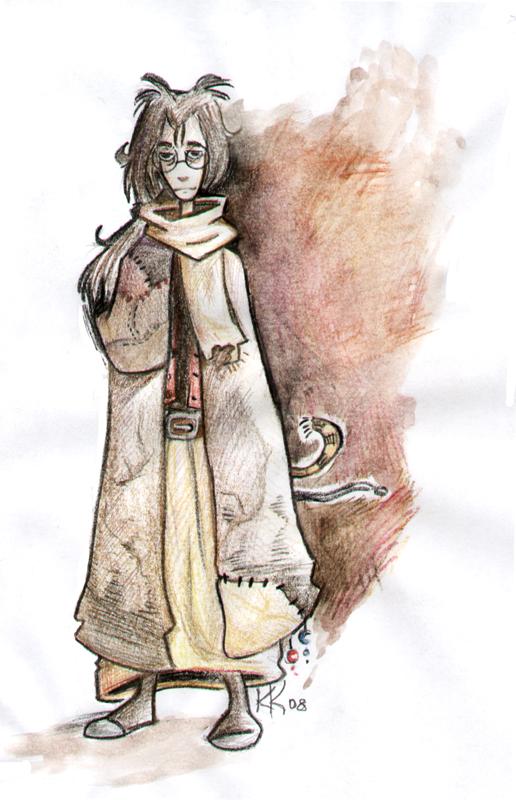 """magiy """"I Can't Think of a Cool Title"""", disegno ispirato dall'ambientazione - by Magiy (Kalin Kadiev) magiy.deviantart.com (2008) © dell'autore tutti i diritti riservati"""