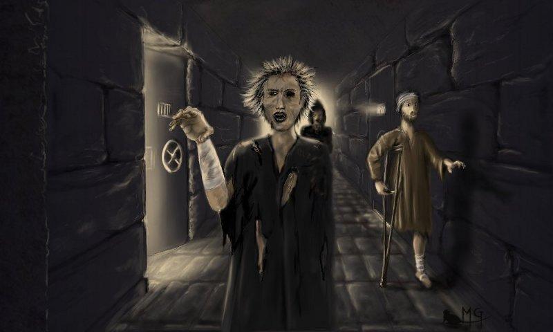 """morgege """"Pandemonium"""" - by morgege (Genevieve Morge) morgege.deviantart.com (2009) © dell'autore tutti i diritti riservati"""