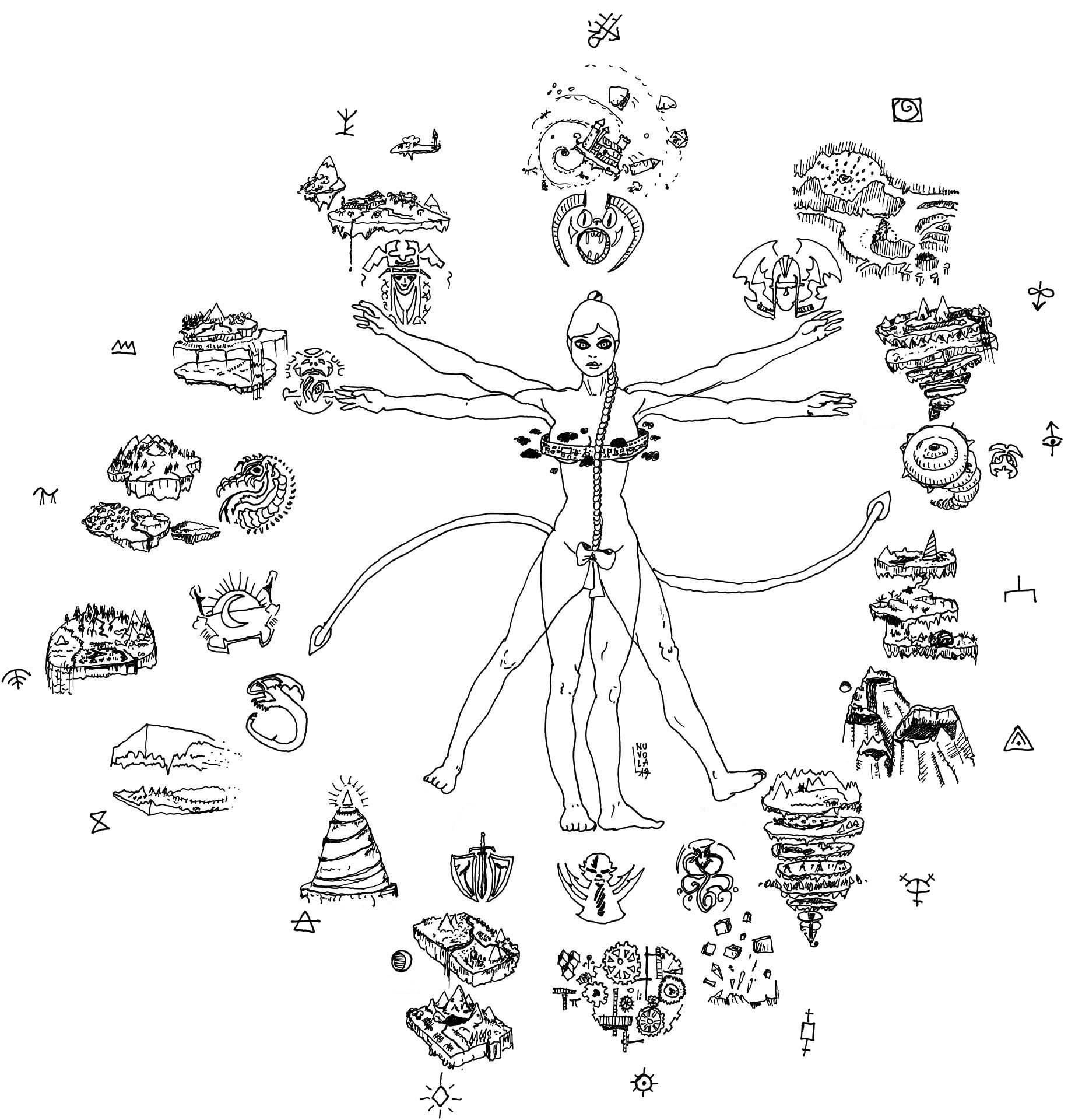 """nuvola planescape """"Signora del caos"""" (dal forum UO, """"Signora del caos - outlands, fazioni, allineamenti"""") - by Nuvola www.planescape.it (2013-07) © dell'autore e Ultima Online Planescape Shard"""