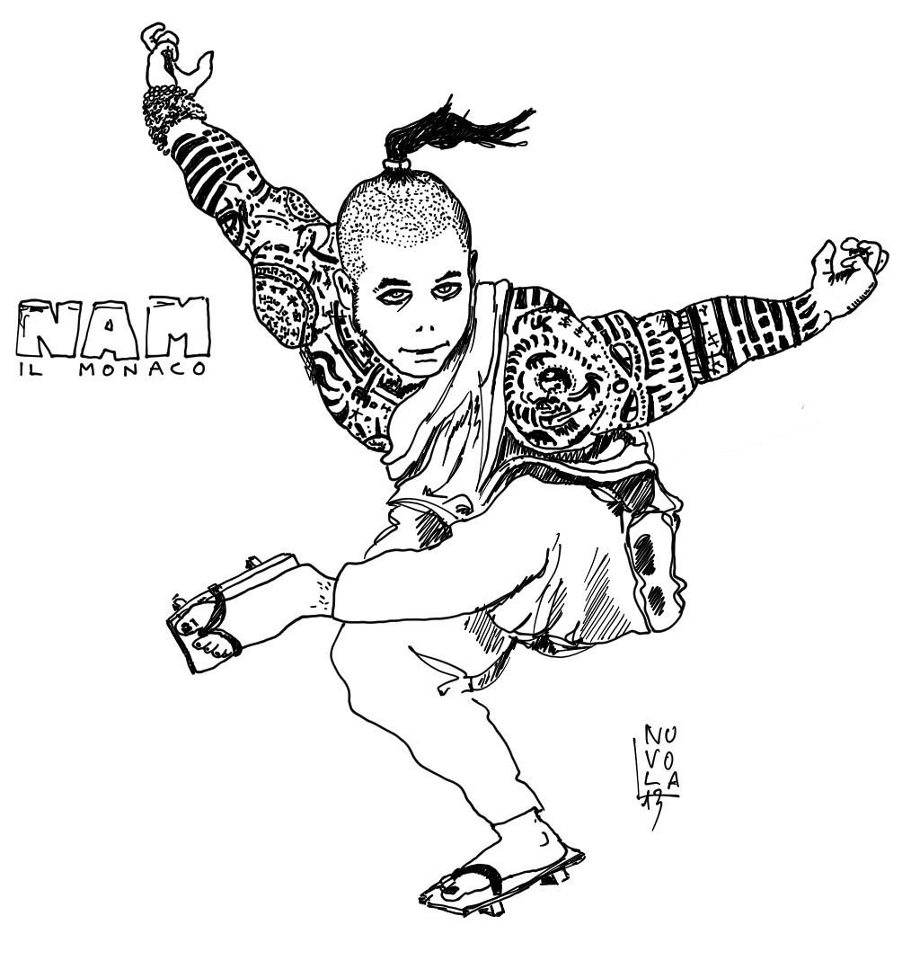 """nuvola planescape """"NAM monaco palestrato e tatuato"""" - by Nuvola www.planescape.it (2013-07) © dell'autore e Ultima Online Planescape Shard"""
