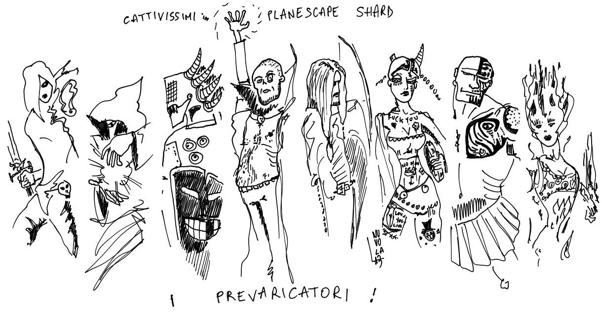 """nuvola planescape """"I Prevaricatori"""" (dal forum UO, """"Prove per cattivissimi"""") - by Nuvola www.planescape.it (2013-08) © dell'autore e Ultima Online Planescape Shard"""