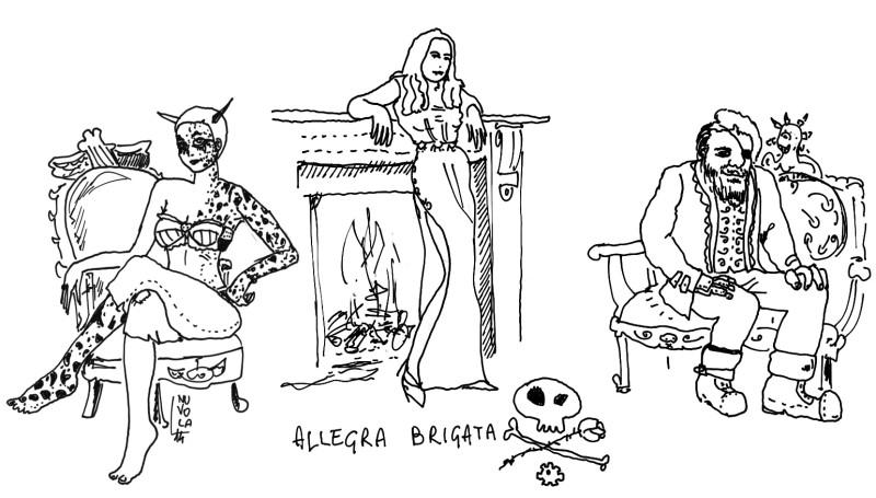 """nuvola planescape """"Baba - gruppo"""" (dal forum UO, """"Allegra brigata (una strega, una demone e un inventore)"""") - by Nuvola www.planescape.it (2014-01) © dell'autore e Ultima Online Planescape Shard"""