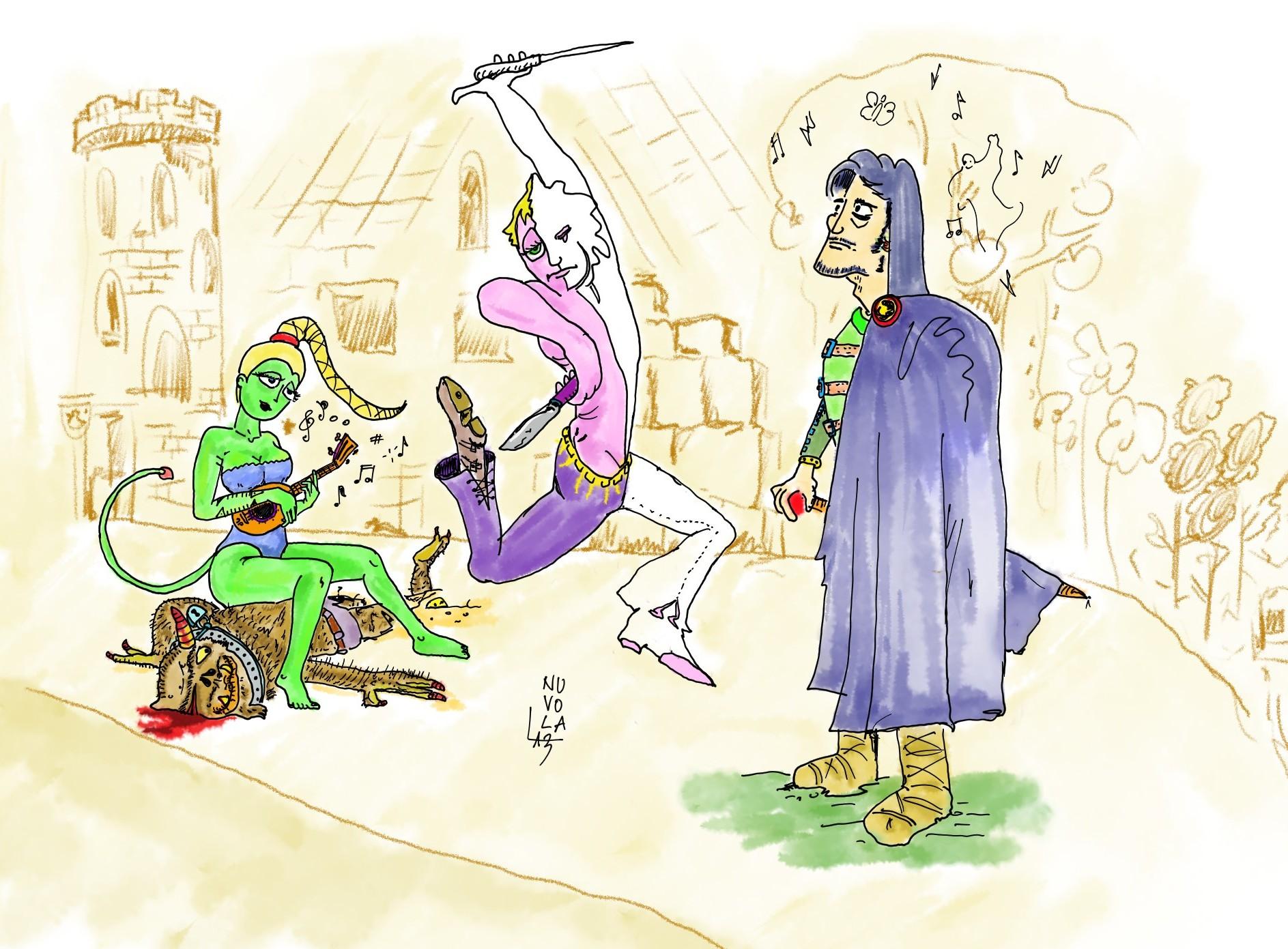 {$tags} **Musicanship**: il Maestro Cantore (seduta) la Lama Danzante (poi ombra danzante) e il Viandante Mistico - by Nuvola Nuvola Seduta (2013-08) © dell'autore e Ultima Online Planescape Shard