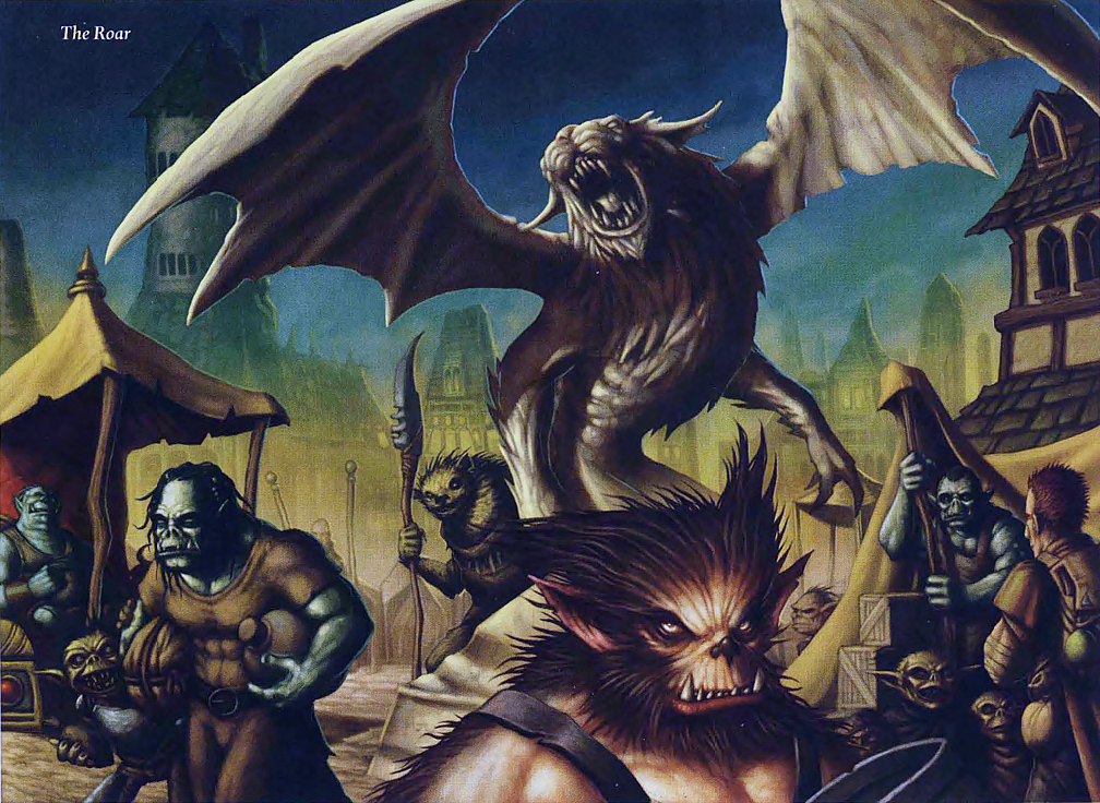 orc Bugbear, orchi, goblin e gnoll... - by Dave Allsop Seekers of the Ashen Crown (2009-07) © Wizards of the Coast & Hasbro