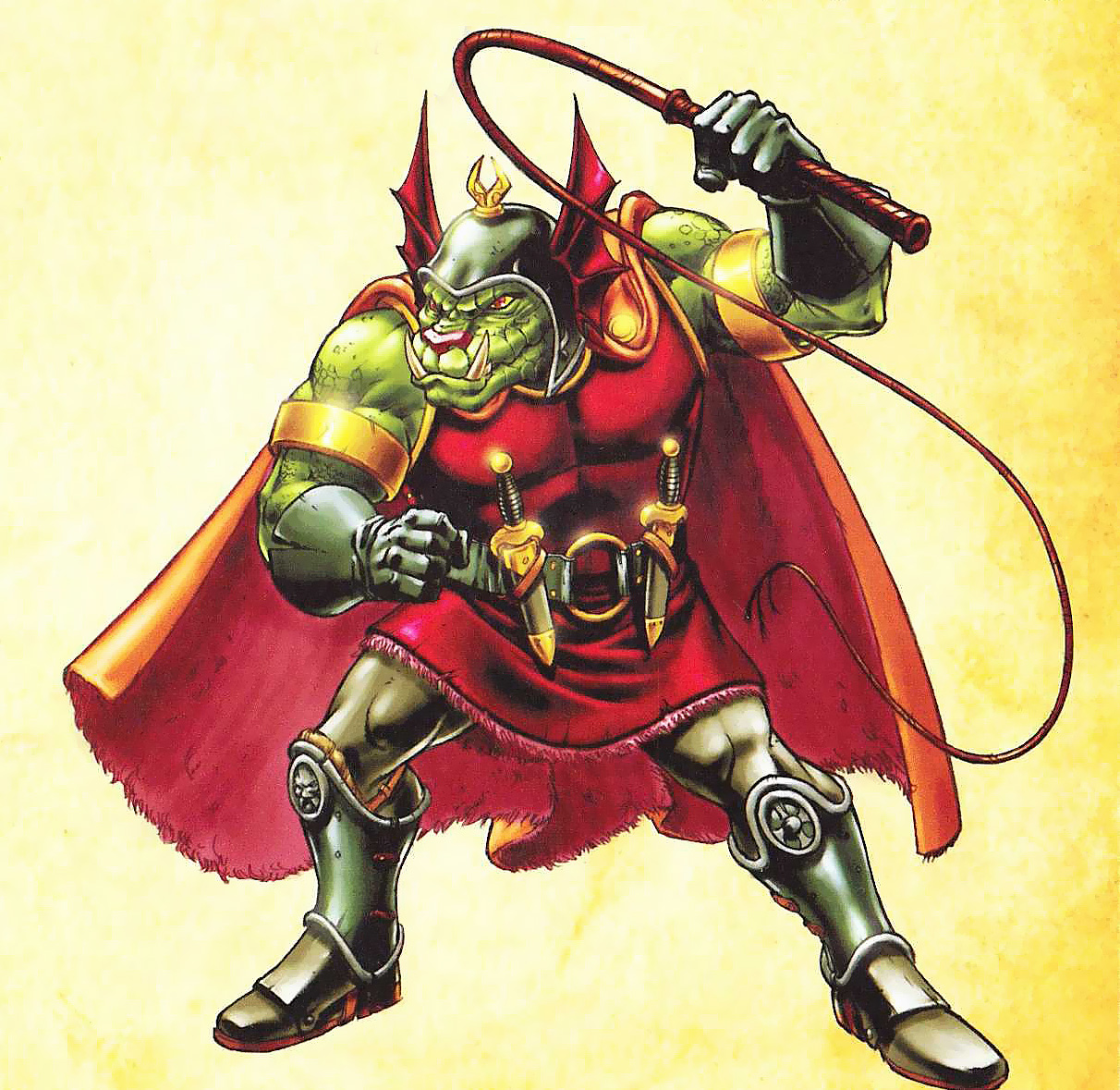 orc Orco (o orca, come lo chiamavano nella serie) - by Emiliano Santalucia Dungeons & Dragons Animated Series Handbook (2007) © Wizards of the Coast & Hasbro