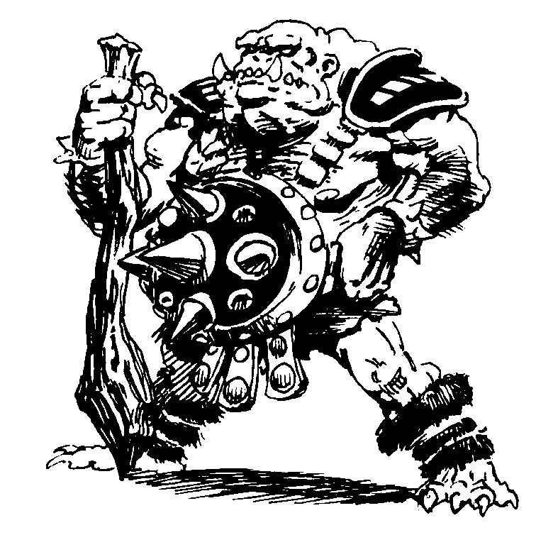orc Orco - by Jim Crabtree Dragon Magazine Annual #3 (1998-11) © Wizards of the Coast & Hasbro
