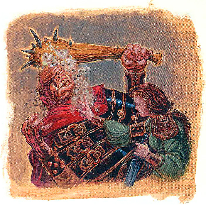 orc Gli orchi hanno sempre la peggio? - by Mark Nelson Dragon Magazine #254 (1998-12) © Wizards of the Coast & Hasbro