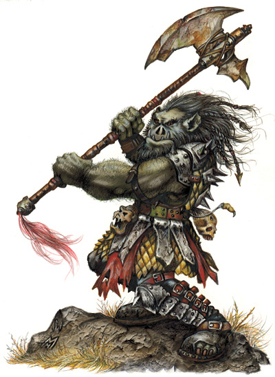 orc Orco - by Matthew Mitchell Monster Manual I v. 3.5 (2003) © Wizards of the Coast & Hasbro